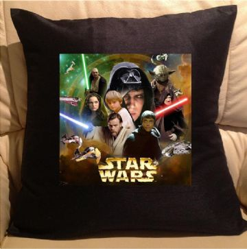 Star wars, sofa cushions